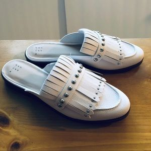 A New Day White Karoline loafers